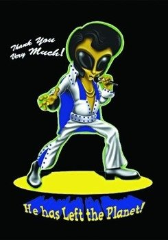 flaga ELVIS - ALIEN