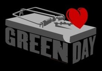 flaga GREEN DAY