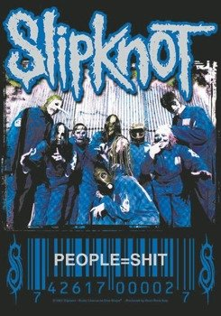 flaga SLIPKNOT - PEOPLE=SHIT