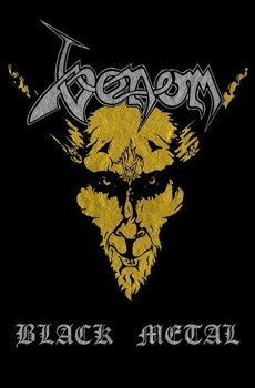 flaga VENOM - BLACK METAL