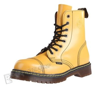 glany STEEL - FULL YELLOW (8 dziurek) AL