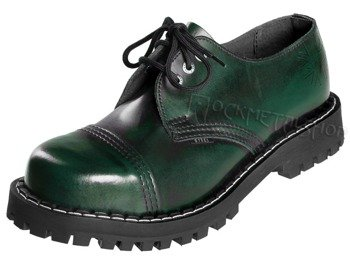 glany STEEL - GREEN / BLACK (3 dziurki)
