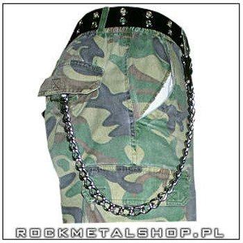 gruby łańcuch do kluczy/portfela (100 cm) z karabińczykiem NR 1