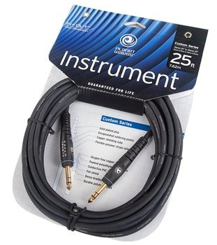 kabel instrumentalny 7,62m PLANET WAVES CUSTOM SERIES jack STEREO prosty/prosty