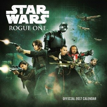 kalendarz STAR WARS 2017, ROGUE ONE