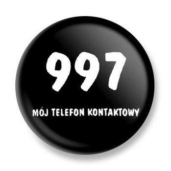 kapsel 997 MÓJ TELEFON KONTAKTOWY Ø25mm