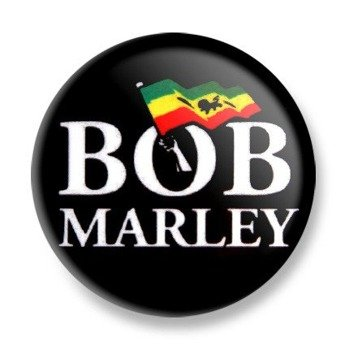 kapsel BOB MARLEY Ø32mm
