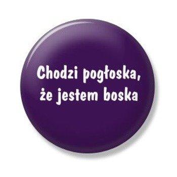 kapsel CHODZI POGŁOSKA, ŻE... Ø25mm