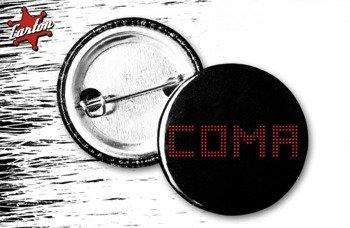 kapsel COMA - LIVE LOGO red