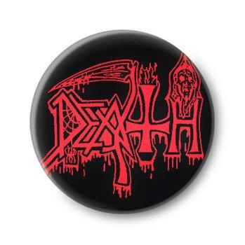 kapsel DEATH - RED LOGO