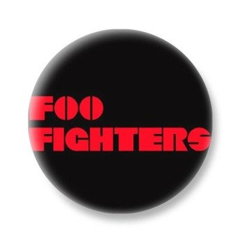 kapsel FOO FIGHTERS - RED LOGO
