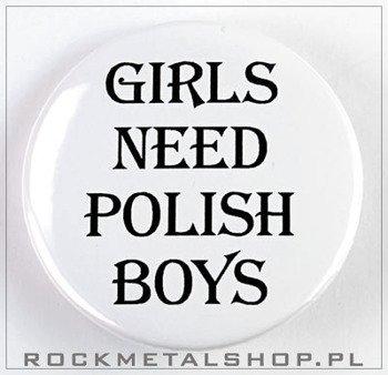 kapsel GIRLS NEED POLISH BOYS