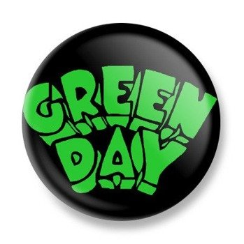 kapsel GREEN DAY - GREEN LOGO 2