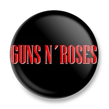 kapsel GUNS N' ROSES - LOGO RED