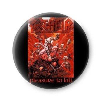 kapsel KREATOR - PLEASURE TO KILL