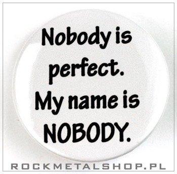kapsel NOBODY IS PERFECT średni