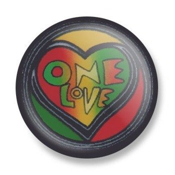 kapsel ONE LOVE Ø25mm