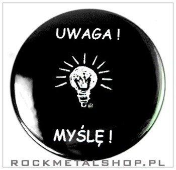 kapsel UWAGA! MYŚLĘ!