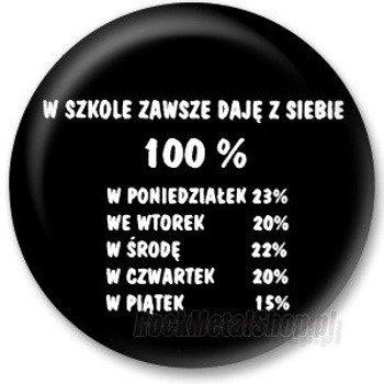 kapsel W SZKOLE ZAWSZE... średni