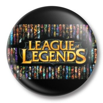 kapsel średni LEAGUE OF LEGENDS Ø38mm