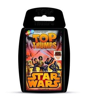 karty STAR WARS - REBELS TOP TRUMPSE