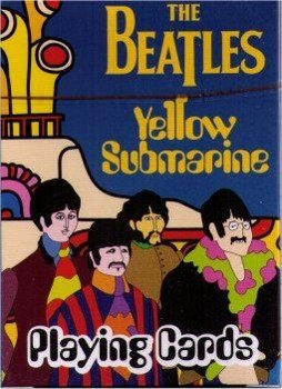 karty THE BEATLES - YELLOW SUBMARINE (NMR52135)