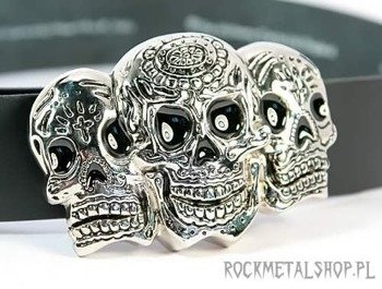 klamra do pasa 3 SKULL DAY OF THE DEAD