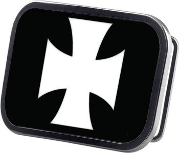 klamra do pasa IRON CROSS BLACK/WHITE