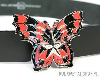klamra do pasa RED BUTTERFLY