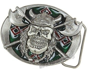 klamra do pasa VIKING SKULL