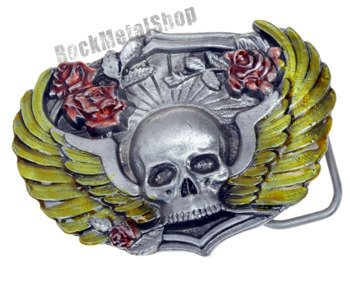 klamra do pasa WINGED SKULL