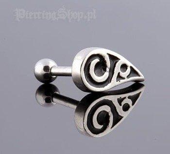 kolczyk piercing do ucha UPPER EAR TRIBAL [TIP-44]