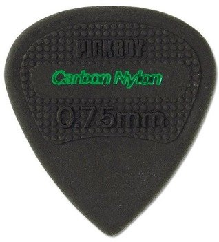 kostka gitarowa PICKBOY EDGE, SHARP TIP Carbon Nylon 0,75mm