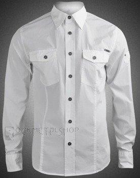 koszula MEN SHIRT SLIM - WHITE