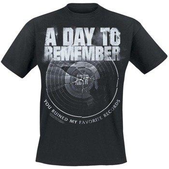 koszulka A DAY TO REMEMBER - BROKEN RECORD