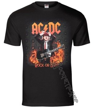 koszulka AC/DC - ANGUS HIGHWAY TO EUROPE
