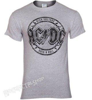koszulka AC/DC - HIGH VOLTAGE EMBLEM