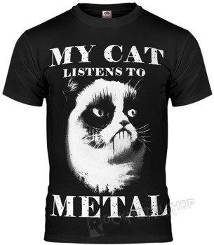 koszulka AMENOMEN - MY CAT LISTENS TO METAL (OMEN077KM)