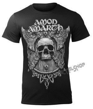 koszulka AMON AMARTH - GREY SKULL