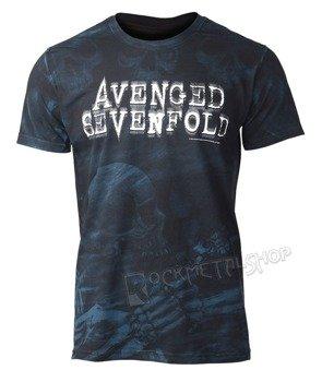 koszulka AVENGED SEVENFOLD - SKELETON MIST AO