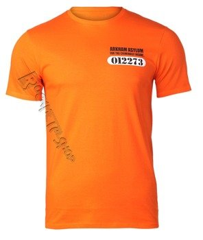 koszulka BATMAN - ARKHAM ASYLUM neon orange