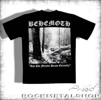 koszulka BEHEMOTH - AND THE FORESTS