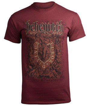 koszulka BEHEMOTH - FUROR DIVINUS MAROON