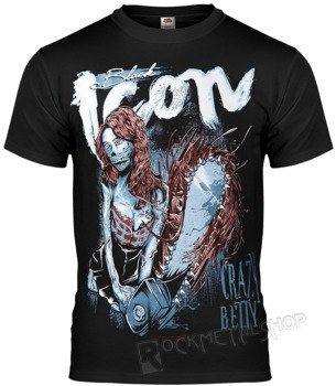 koszulka BLACK ICON - CRAZY BETTY (MICON082 BLACK)