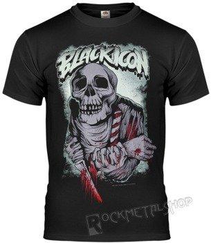 koszulka BLACK ICON - EAT (MICON086BLC)