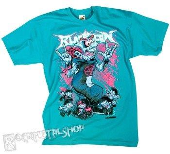 koszulka BLACK ICON - SMURFS turkusowa (MICON090 TURQUOISE)