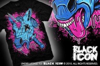 koszulka BLACK ICON - UNICORPSE (MICON105 BLACK)