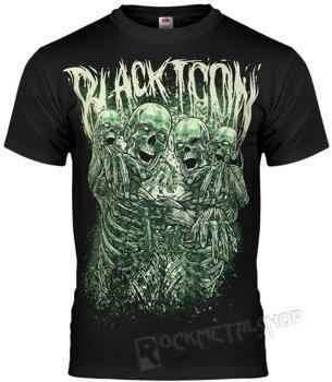 koszulka BLACK ICON - ZOMMMBBBIIIES (MICON078BLC)