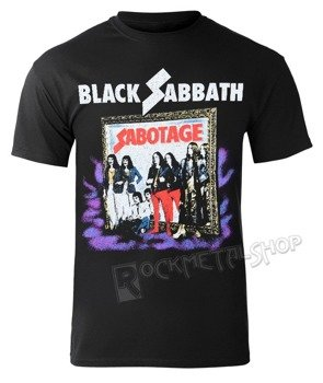 koszulka BLACK SABBATH - SABOTAGE VINTAGE