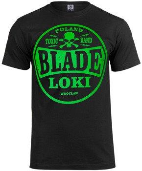 koszulka BLADE LOKI - TOXIC BAND green